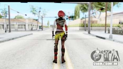 Borderland - Lilith para GTA San Andreas terceira tela