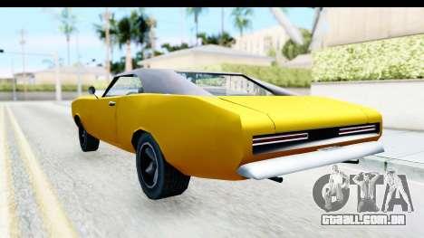 Imponte Dukes 1971 para GTA San Andreas esquerda vista