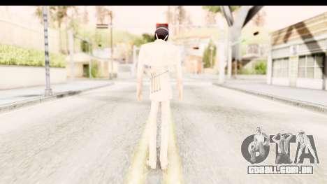 Bleach - Uryu para GTA San Andreas terceira tela