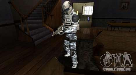 Elite GENSEC PAYDAY 2 SWAT Unit para GTA San Andreas segunda tela