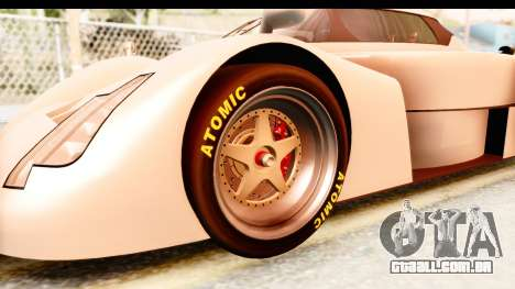 GTA 5 Annis RE-7B para GTA San Andreas vista traseira