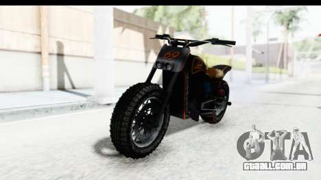 GTA 5 Western Gargoyle Custom v1 para GTA San Andreas