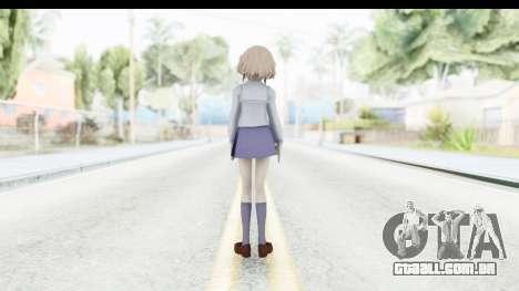 Ohana Matsumae (Hanasaku Iroha) para GTA San Andreas terceira tela