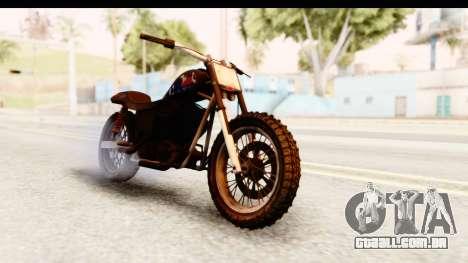 GTA 5 Western Cliffhanger Custom v2 IVF para GTA San Andreas vista direita