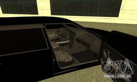 2115 para GTA San Andreas vista interior