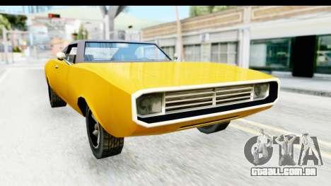 Imponte Dukes 1971 para GTA San Andreas vista direita