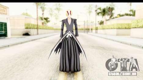 Bleach - Ichigo v3 para GTA San Andreas segunda tela