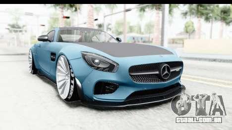 Mercedes-Benz AMG GT Prior Design para GTA San Andreas vista direita
