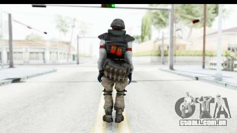 The Division Last Man Battalion - Grenadier para GTA San Andreas terceira tela