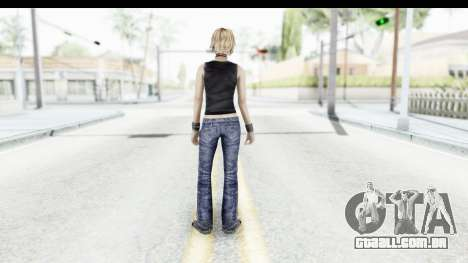 Silent Hill 3 - Heather Sporty Black Pennywise R para GTA San Andreas terceira tela