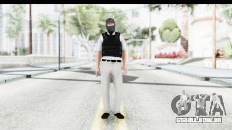 Kane and Lynch 2 - Bandit in Mask v1 para GTA San Andreas segunda tela