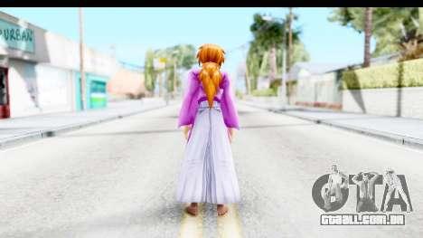 Kenshin v1 para GTA San Andreas terceira tela