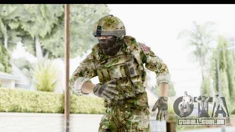 Global Warfare UK para GTA San Andreas