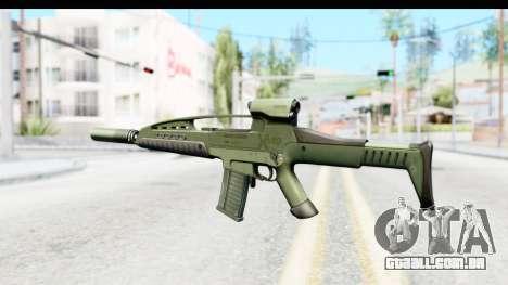 H&K XM8 Silenced para GTA San Andreas segunda tela