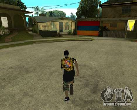 New Armenian Skin para GTA San Andreas terceira tela