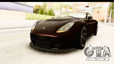 GTA 5 Dewbauchee Rapid GT SA Style para GTA San Andreas vista direita