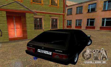 2109 para GTA San Andreas vista inferior