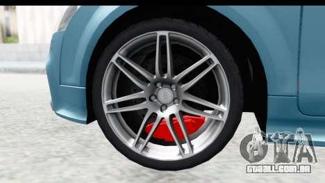 Audi TT RS para GTA San Andreas vista direita