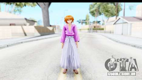 Kenshin v3 para GTA San Andreas segunda tela