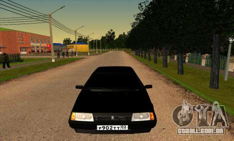 2109 para GTA San Andreas vista superior