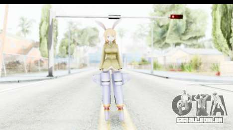 Charlotte (Strike Witches) para GTA San Andreas segunda tela