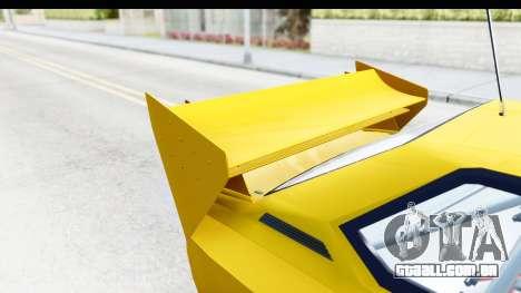 GTA 5 Obey Omnis IVF para vista lateral GTA San Andreas