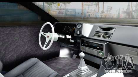 MGSV Phantom Pain Firetruck para GTA San Andreas vista interior