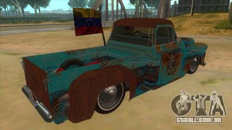 Chevrolet Apache para GTA San Andreas vista direita