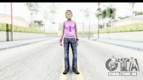 Silent Hill 3 - Heather Sporty Neon Pink para GTA San Andreas segunda tela