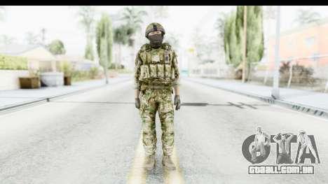 Global Warfare UK para GTA San Andreas segunda tela