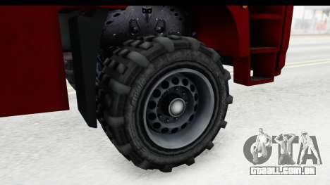 GTA 5 MTL Dune 3D Shadow IVF para GTA San Andreas vista traseira