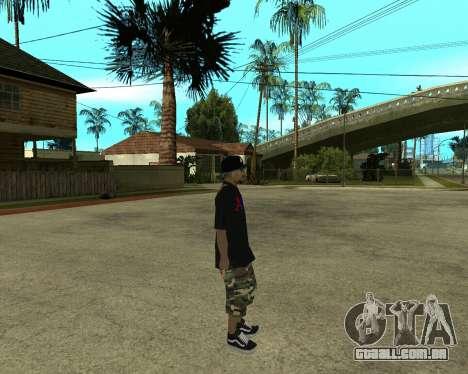 New Armenian Skin para GTA San Andreas décima primeira imagem de tela