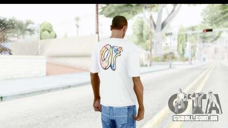 OF T-Shirt para GTA San Andreas terceira tela