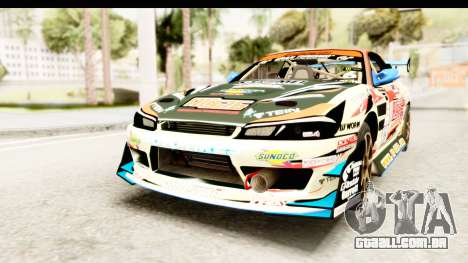 D1GP Nissan Silvia RC926 Toyo Tires para GTA San Andreas vista direita