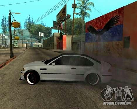 BMW M3 Armenian para o motor de GTA San Andreas