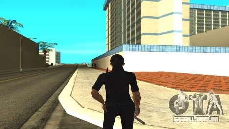 A pele de uma funcionária da polícia para GTA San Andreas terceira tela