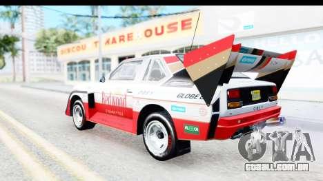 GTA 5 Obey Omnis para GTA San Andreas interior