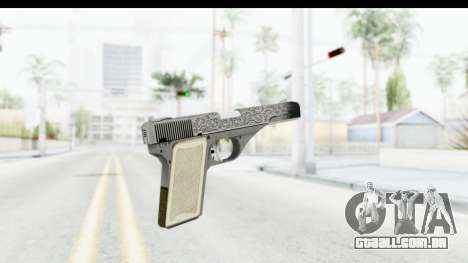GTA 5 Vintage Pistol para GTA San Andreas segunda tela