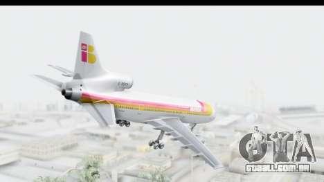 Lockheed L-1011-100 TriStar Iberia para GTA San Andreas esquerda vista