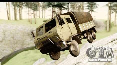 Dongfeng SX Military Truck para GTA San Andreas