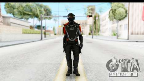 Homefront The Revolution - KPA v3 Captain para GTA San Andreas segunda tela
