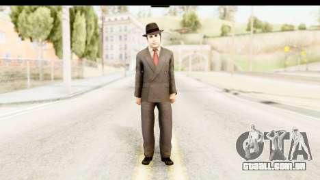 Al Capone para GTA San Andreas segunda tela