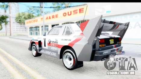 GTA 5 Obey Omnis para GTA San Andreas vista superior