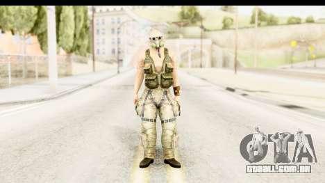 CrimeCraft Male Rogue para GTA San Andreas segunda tela