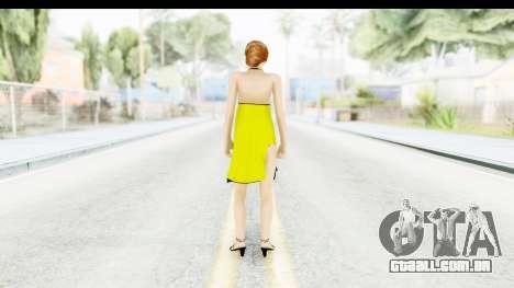 Margot Robbie para GTA San Andreas terceira tela