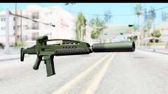H&K XM8 Silenced para GTA San Andreas
