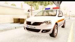 Dacia Logan Facelift Ambulanta v2 para GTA San Andreas