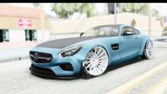 Mercedes-Benz AMG GT Prior Design para GTA San Andreas