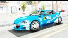 Subaru BRZ Rally