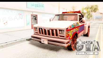 Towtruck Sticker Bomb para GTA San Andreas